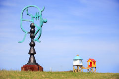 Rzeźby morzem przy Bondi Australia Obrazy Stock