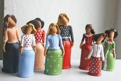 Rzeźby płciowość i kobiecość Fotografia Stock