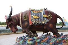 Rzeźby różnorodni zwierzęta, Tajlandia, Azja Południowo-Wschodnia Zdjęcia Stock