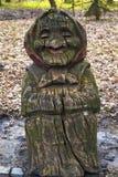 Rzeźby sztuki postać babci drzewo Zdjęcie Royalty Free