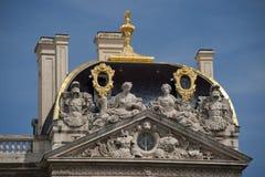 Rzeźby urząd miasta Lyon Zdjęcia Stock