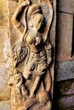 Rzeźby w kamieniu w świątyni Zdjęcia Stock