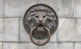 Rzeźba antykwarski lew w Odessa, Ukraina Fotografia Stock