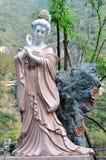 Rzeźba czarodziejska dziewczyna Obraz Stock
