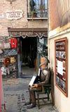 Rzeźba Don donkiszot Fotografia Royalty Free