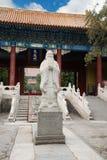 Rzeźba filozof Confucius w Pekin Fotografia Stock