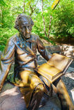 Rzeźba Hans Christian Andersen w central park, Miasto Nowy Jork Fotografia Royalty Free