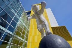 Rzeźba I'am tutaj! Obrazy Stock