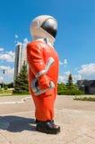 Rzeźba kosmonauta Obraz Royalty Free