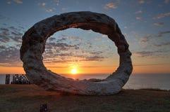Rzeźba morzem - Otwiera Zdjęcia Stock
