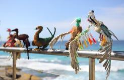 Rzeźba morzem - Transmigration Zdjęcia Stock