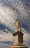 Rzeźba na terenie Obrazy Royalty Free