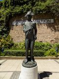 rzeźba NELSON ALMIRAL Zdjęcie Stock