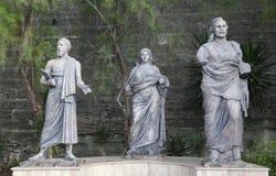 Rzeźba przed Bodrum kasztelem Fotografia Royalty Free