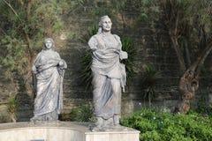 Rzeźba przed Bodrum kasztelem Zdjęcie Royalty Free