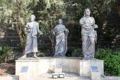 Rzeźba przed Bodrum kasztelem, Turcja Fotografia Stock