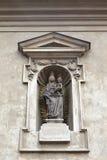Rzeźba przy St George klasztorem Zdjęcia Stock