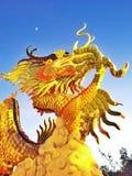 Rzeźba smok zdjęcie stock