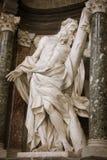 Rzeźba St Andrew zdjęcia royalty free