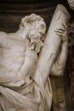 Rzeźba St Andrew obrazy royalty free