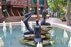 Rzeźba Trzy graci zdjęcia royalty free