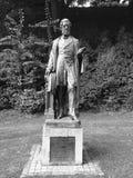 Rzeźba w Exeter ogródach obrazy royalty free