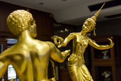 Rzeźba w Tajlandzkim muzeum Zdjęcia Royalty Free