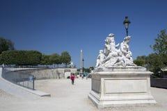 Rzeźba w Tuileries ogródzie Fotografia Stock