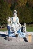 Rzeźba w Wietnamskim monasterze Zdjęcie Stock