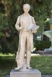 Rzeźba w Zsolnay centrum w Pecs Obrazy Stock