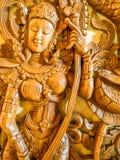 Rzeźbeni drewna Fotografia Stock