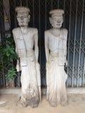 Rzeźbiony drewno Obraz Royalty Free