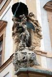 Rzeźby które dekoruje budynek Fotografia Stock