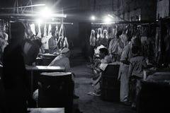 Rzeźnia w saddar bazzar Karachi Obraz Stock