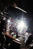 Rzeźnia w saddar bazzar Karachi Fotografia Stock
