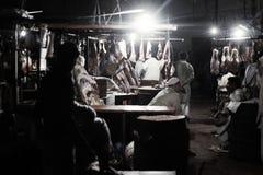 Rzeźnia w saddar bazzar Karachi Fotografia Royalty Free