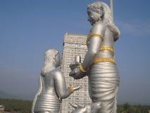 Rzeźby przy Murudeshwar Fotografia Royalty Free