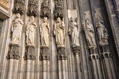 rzeźby siedem Zdjęcia Stock