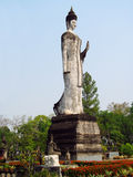 Rzeźby w Nong Khai Buddha parku w Tajlandia Zdjęcie Stock