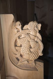 rzeźby z drewna Zdjęcia Stock
