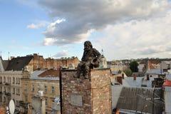 Rzeźba kominowy zakres Zdjęcie Stock