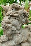Rzeźba smok Zdjęcia Royalty Free