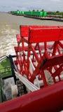 Rzeczna łódź Obraz Stock