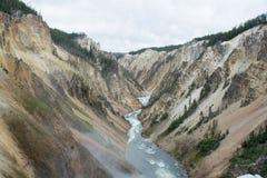 Rzeczna dolina Obraz Stock