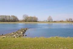 Rzeczna Rhine pachwina obrazy stock