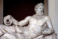 Rzeczna Tiber rzeźba Fotografia Stock