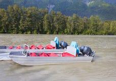 Rzeczne łodzie fotografia stock