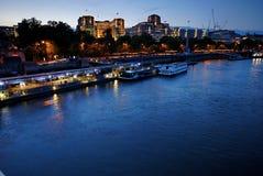 Rzeczni Thames budynki - 5 obraz stock