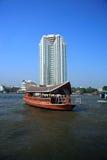 rzeczny Bangkok taxi Thailand Fotografia Royalty Free