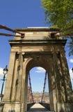rzeczny Clyde bridżowy wiktoriański Glasgow Scotland Zdjęcie Stock